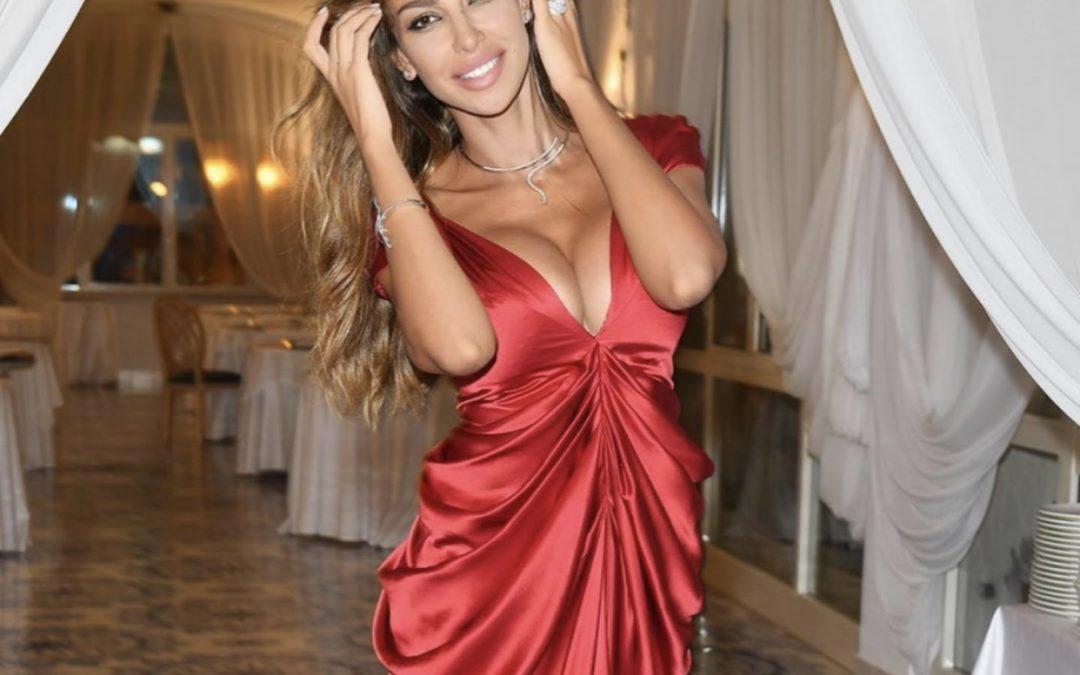 Madalina Ghenea wears 57London