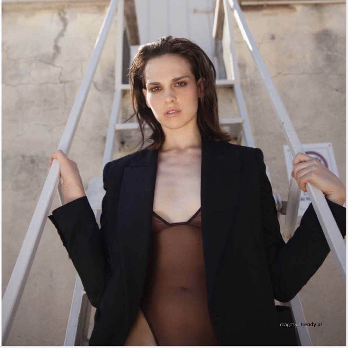 Sara Serraiocco indossa 57London